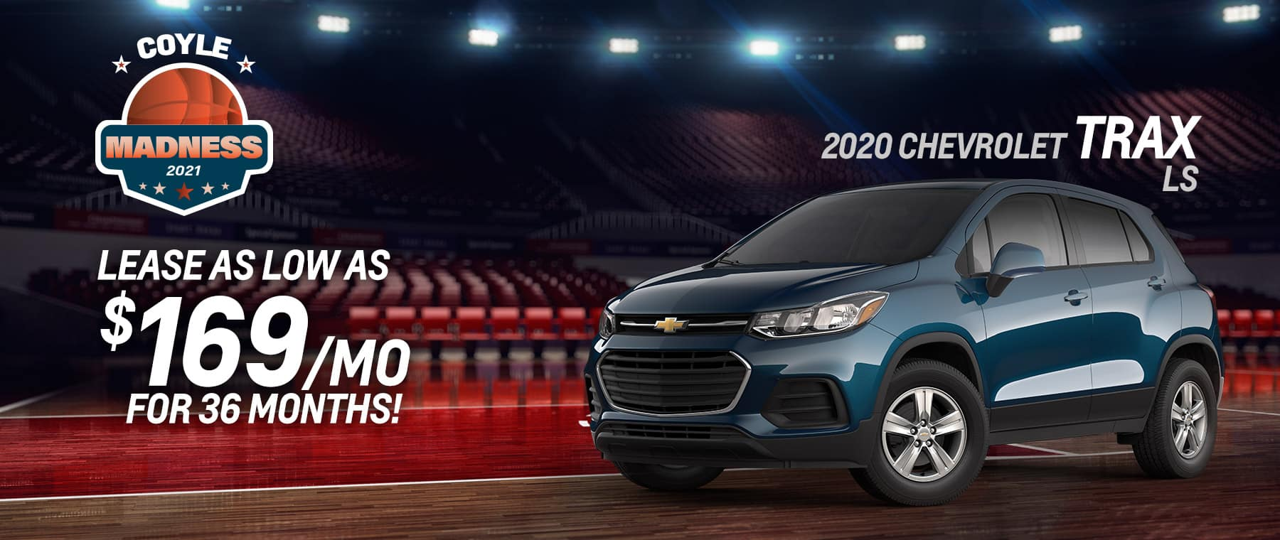 Best lease offer on a new 2020 Chevy Trax near Clarksville IN
