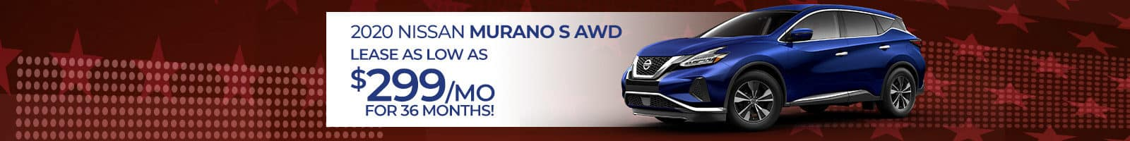Best offer on a 2020 Nissan Murano near Clarksville IN