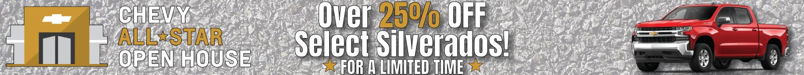 chevy silverado sale