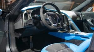 Interior of Corvette Grand Sport