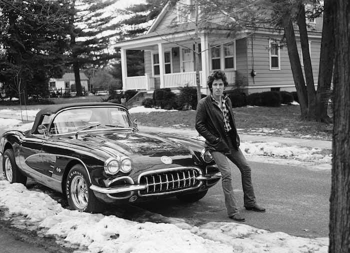 1960 Corvette of Bruce Springsteen