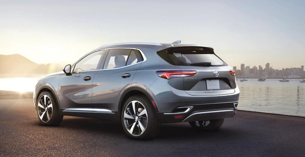 2021 Buick Envision Rear Exterior Profile