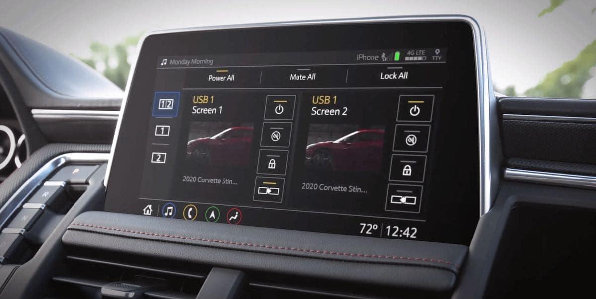 2021 Chevrolet Tahoe Parental Control Feature