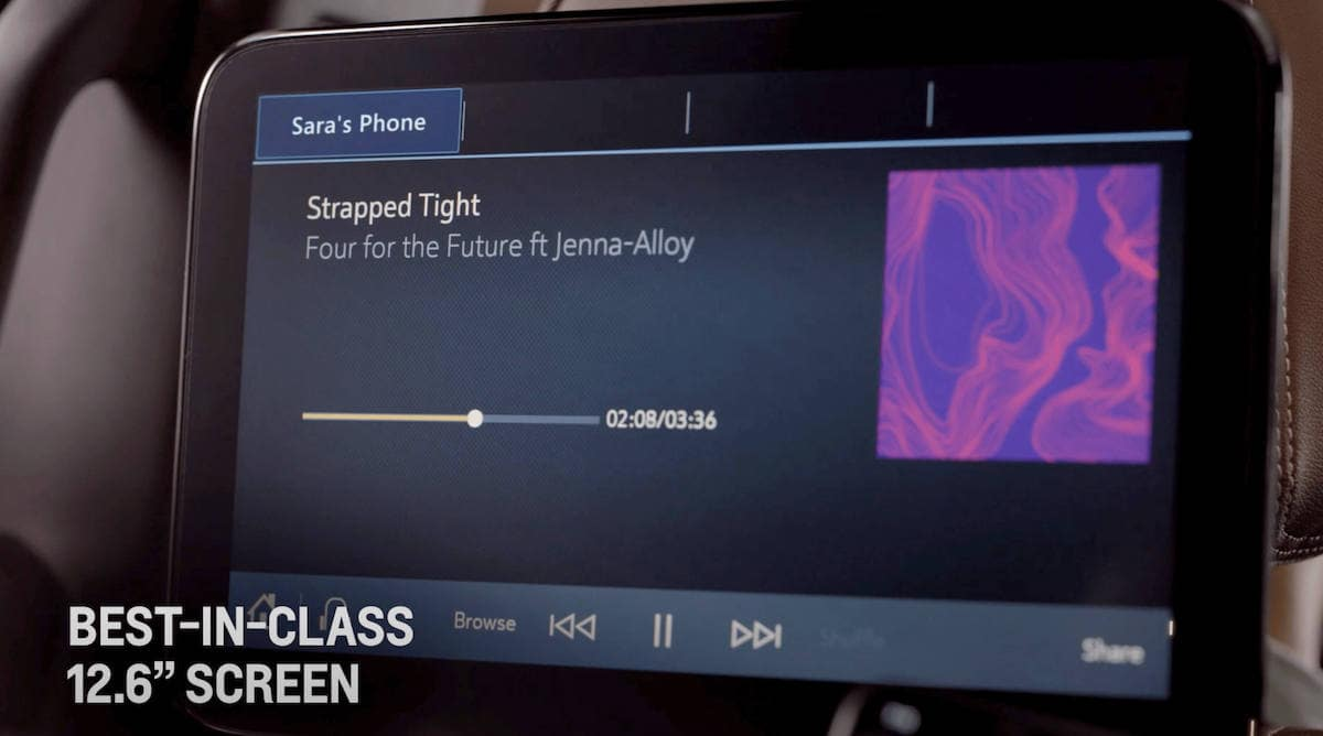 2021 Chevrolet Tahoe Rear Audio Features