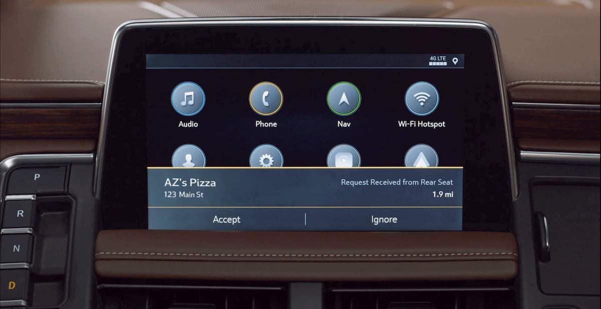 2021 Chevrolet Tahoe Destination Features