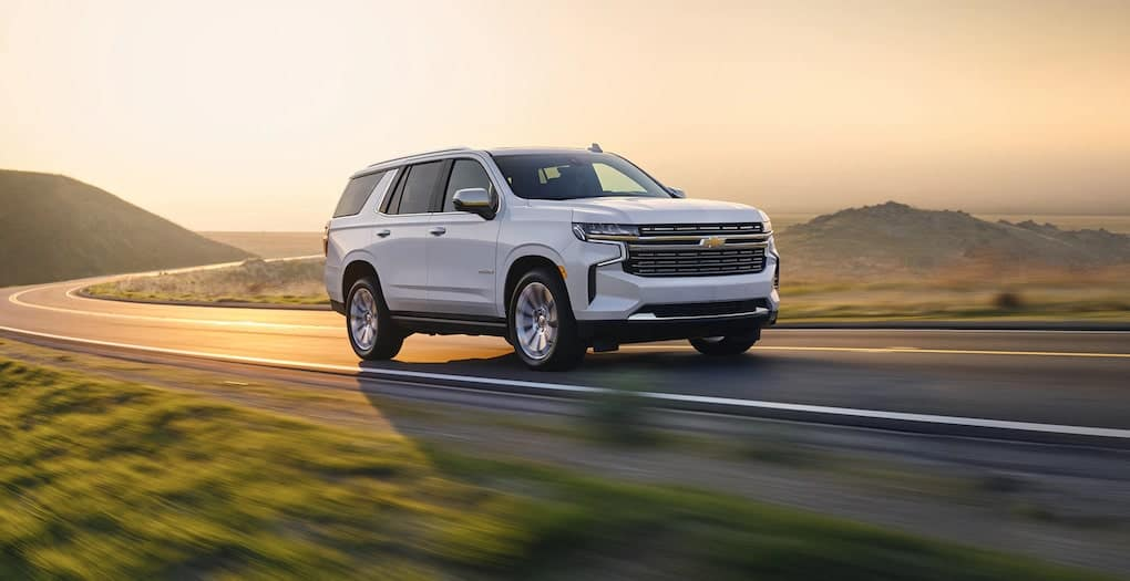 2021 Chevy Tahoe Front Side Exterior