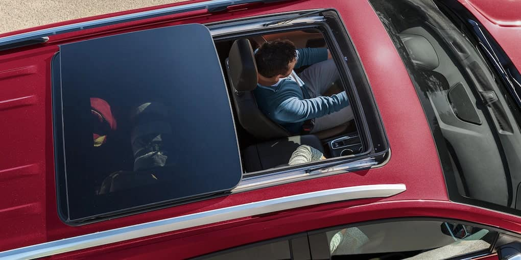 Chevy Equinox Open Sunroof