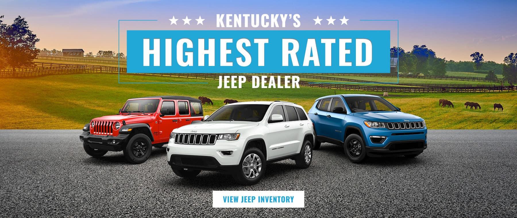 Kentucky's Highest Rated Jeep Dealer