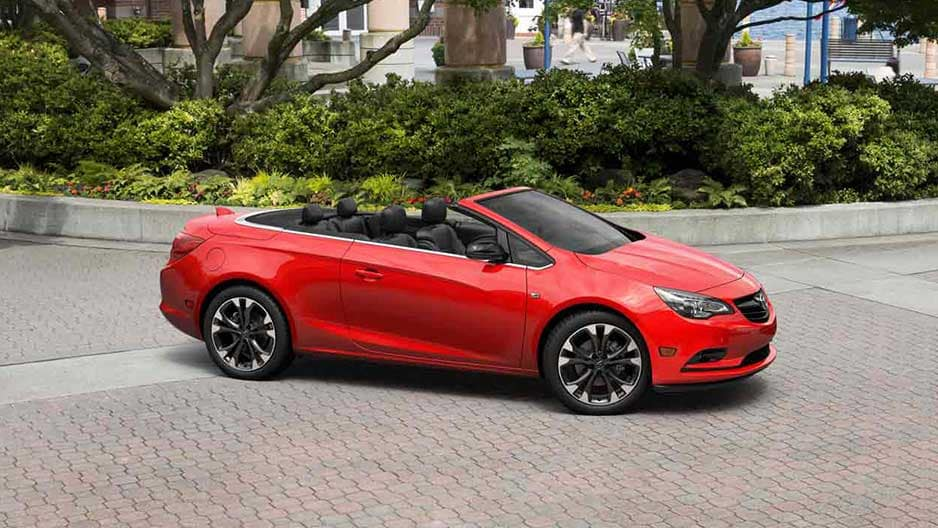 Exterior Features of the New Buick Cascada at Garber in West-Palm-Beach, FL