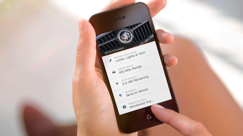 Technology Features of the New Buick Envision at Garber in Boca-Raton, FL