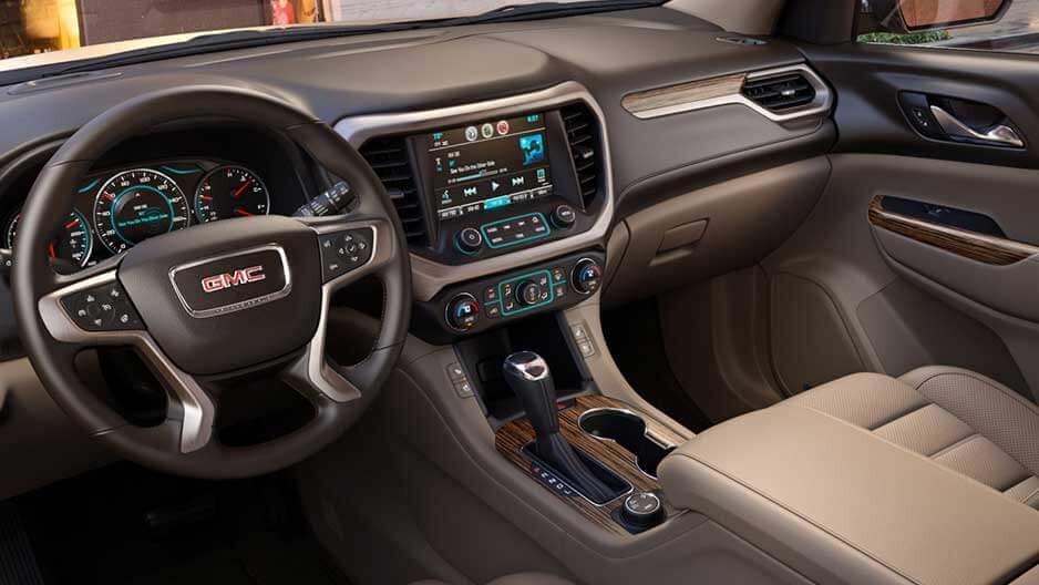 Technology Features of the New GMC Acadia at Garber in Boca-Raton, FL