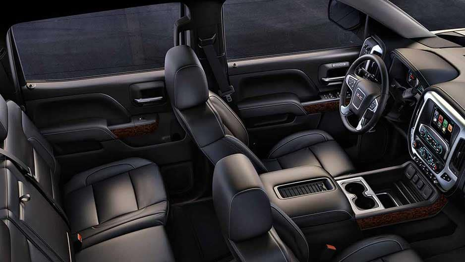 Interior Features of the New GMC Sierra-1500 at Garber in West-Palm-Beach, FL