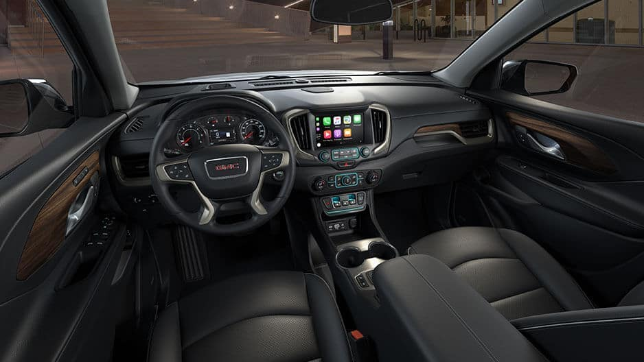 Interior Features of the New GMC Terrain at Garber in West-Palm-Beach, FL