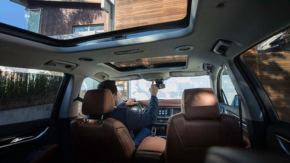 Interior Features of the New Buick Enclave at Garber in West-Palm-Beach, FL