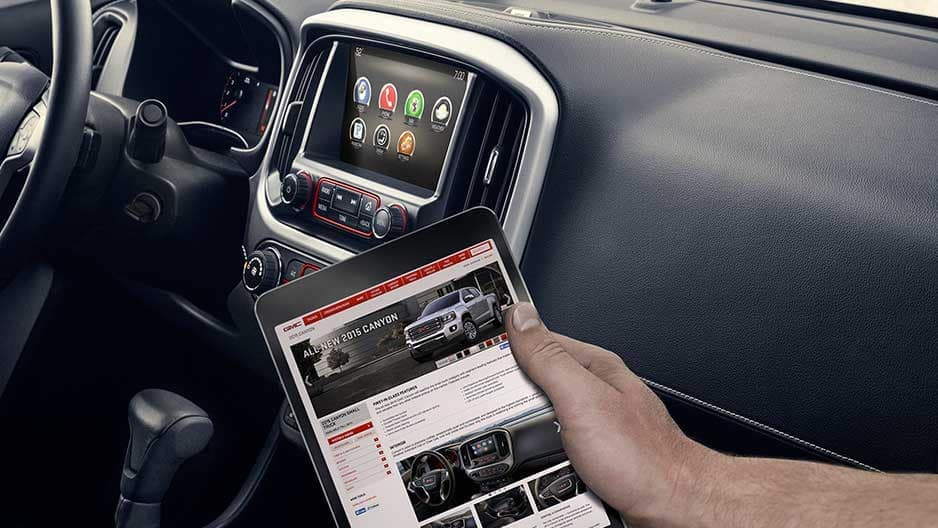 Technology Features of the New GMC Canyon at Garber in Boca-Raton, FL