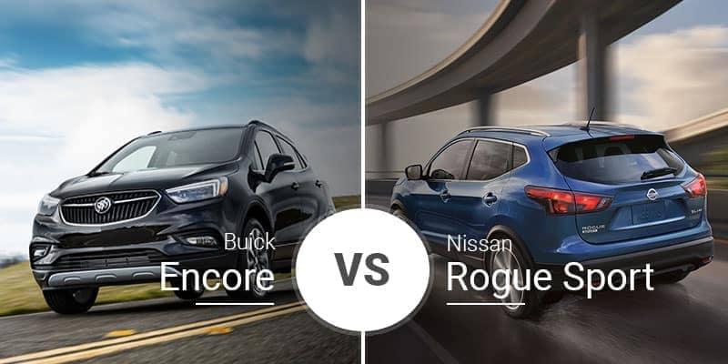 Buick Encore Vs. Nissan Rogue Sport