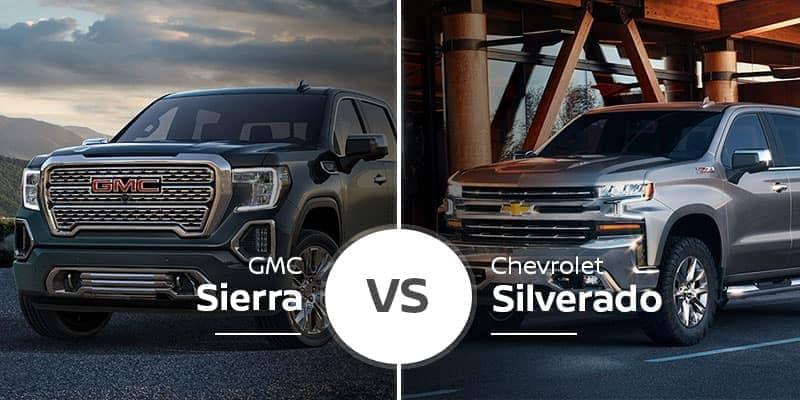 GMC Sierra 1500 Vs. Chevrolet Silverado 1500
