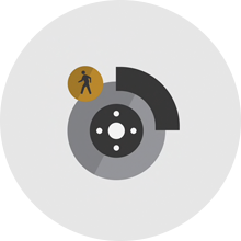 Available Front Pedestrian Braking