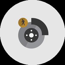 Standard Front Pedestrian Braking