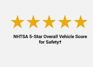 NHTSA 5-star