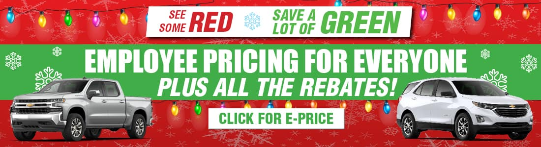 See some red, save A LOT of Green!