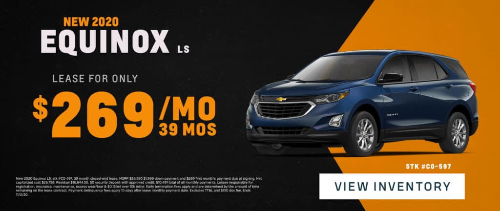 New 2020 Chevrolet Equinox Sale