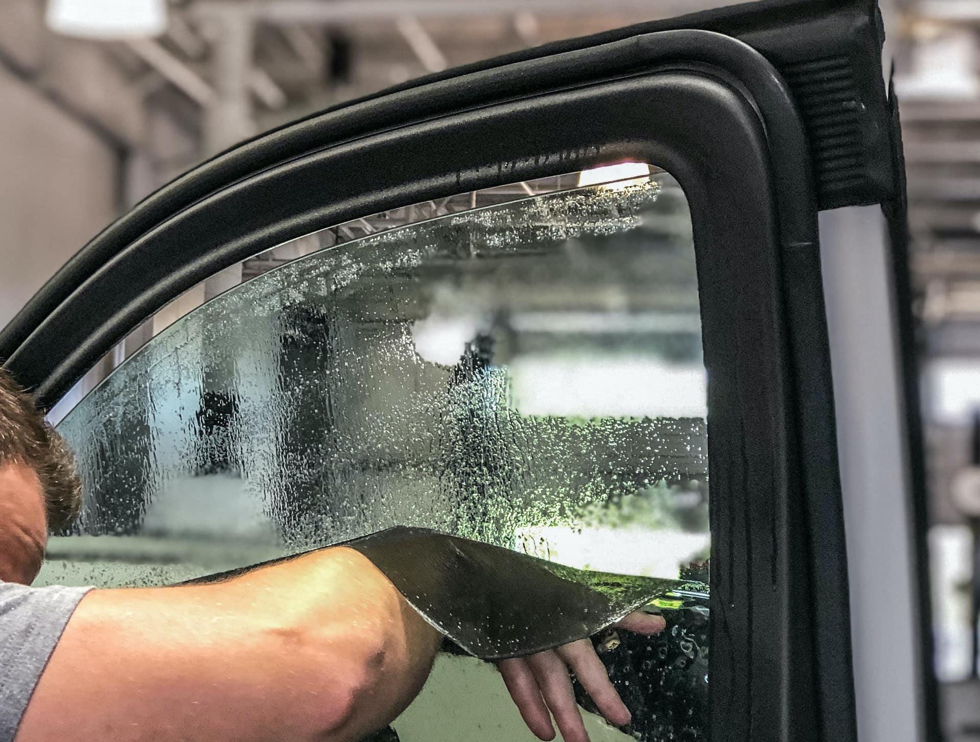 Silverado Window Install