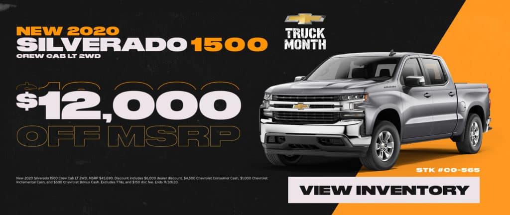 New 2020 Chevrolet Silverado Sale