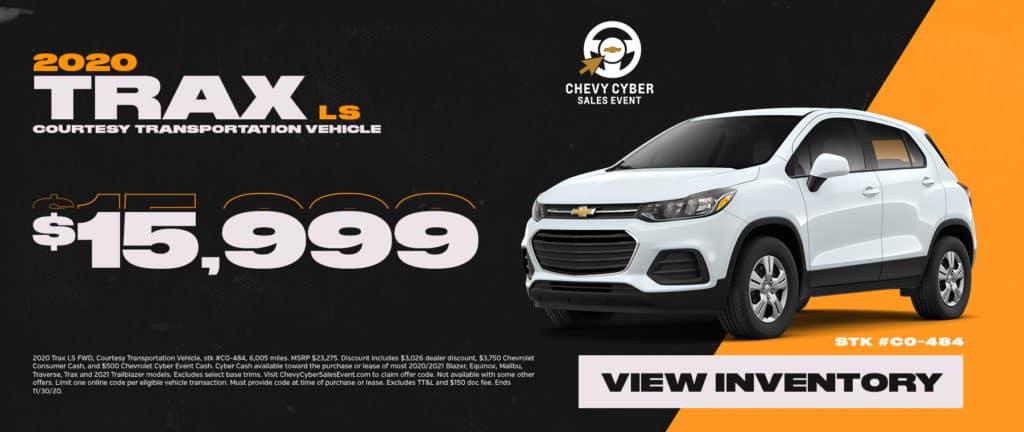 New 2020 Chevrolet Trax Sale