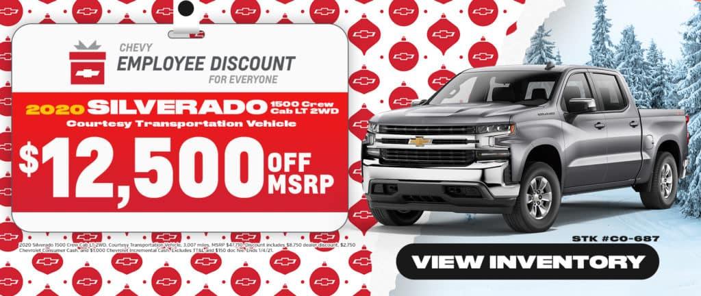 2020 Chevrolet Silverado Sale