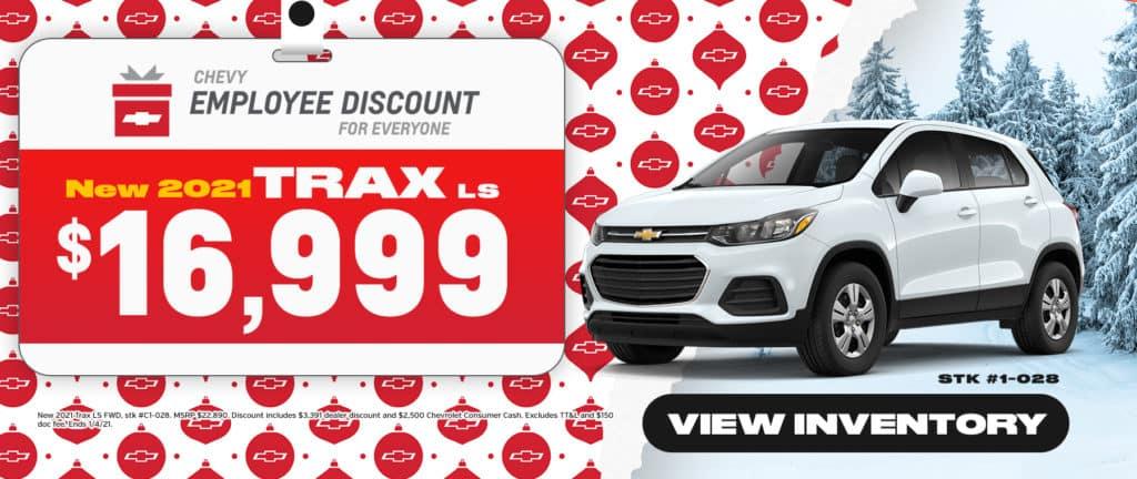 New 2021 Chevrolet Trax Sale