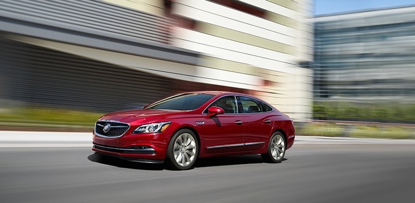 2018 Lacrosse Is Flagship For Buick S New Features Doral