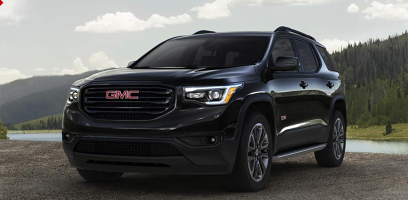 top 3 reasons to choose a 2018 acadia all terrain. Black Bedroom Furniture Sets. Home Design Ideas