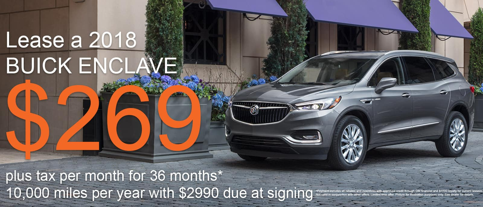 Buick Enclave June Special