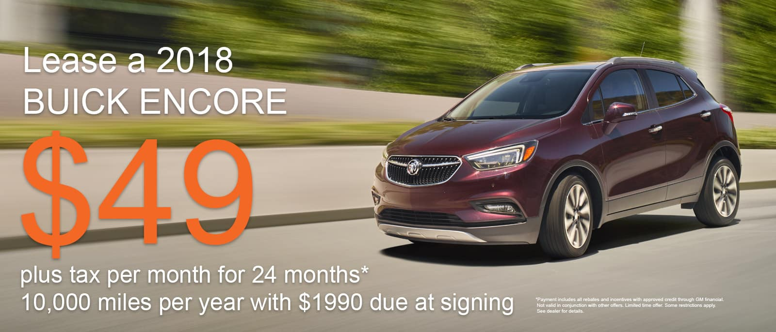 Buick Encore June Special
