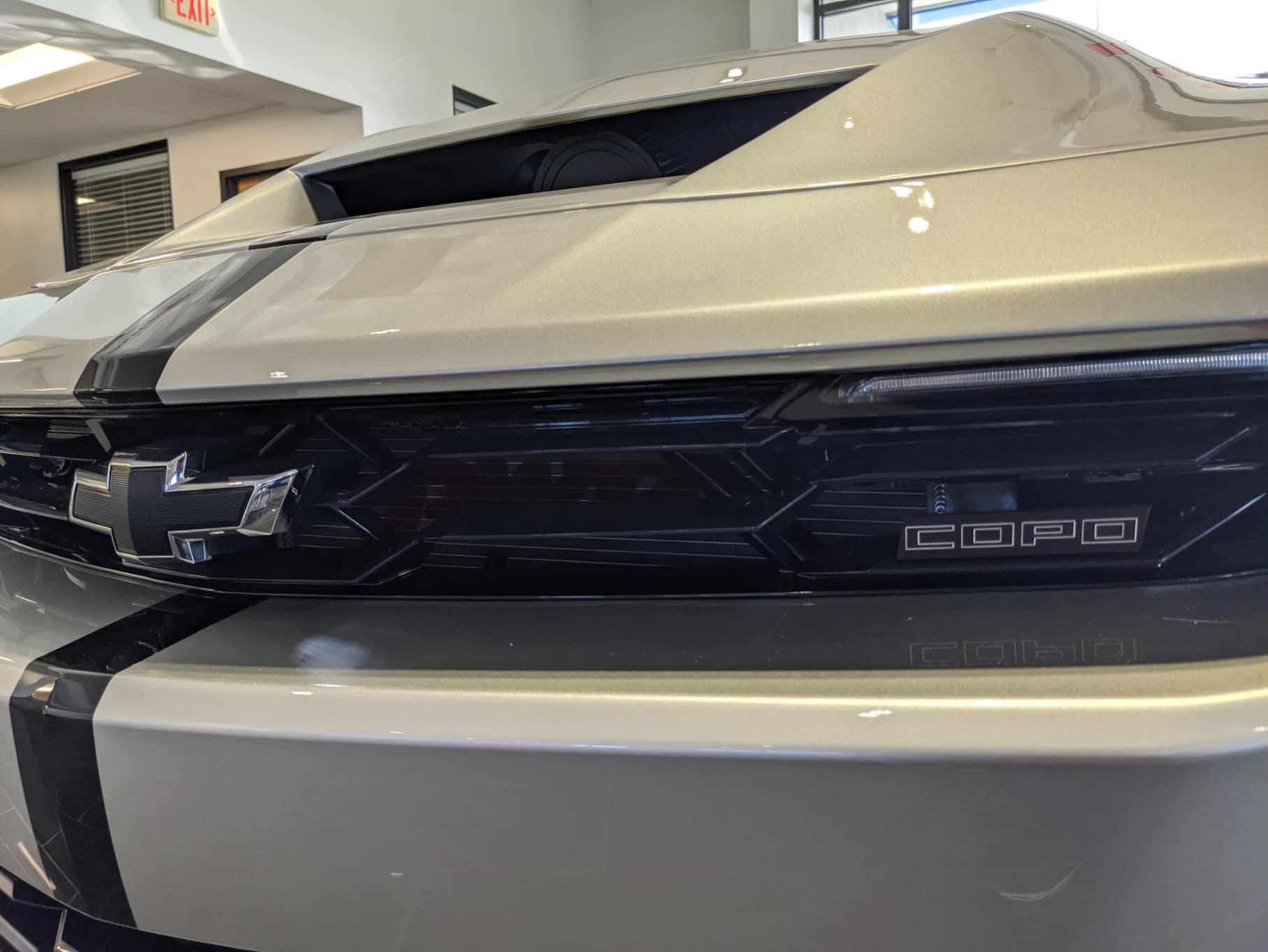 New Chevy Copo Camaro Exterior