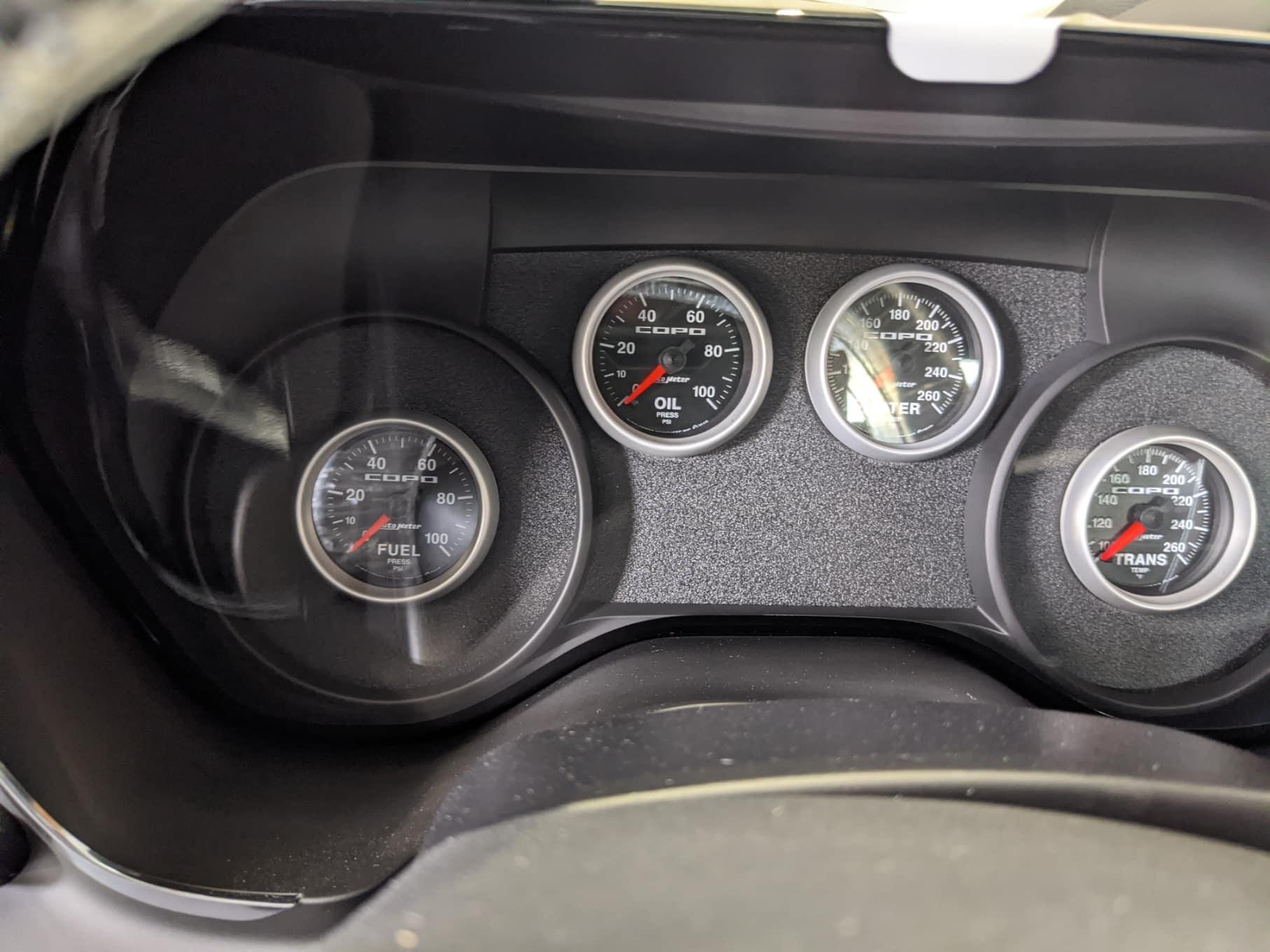 2020 Chevy Copo Camaro Interior