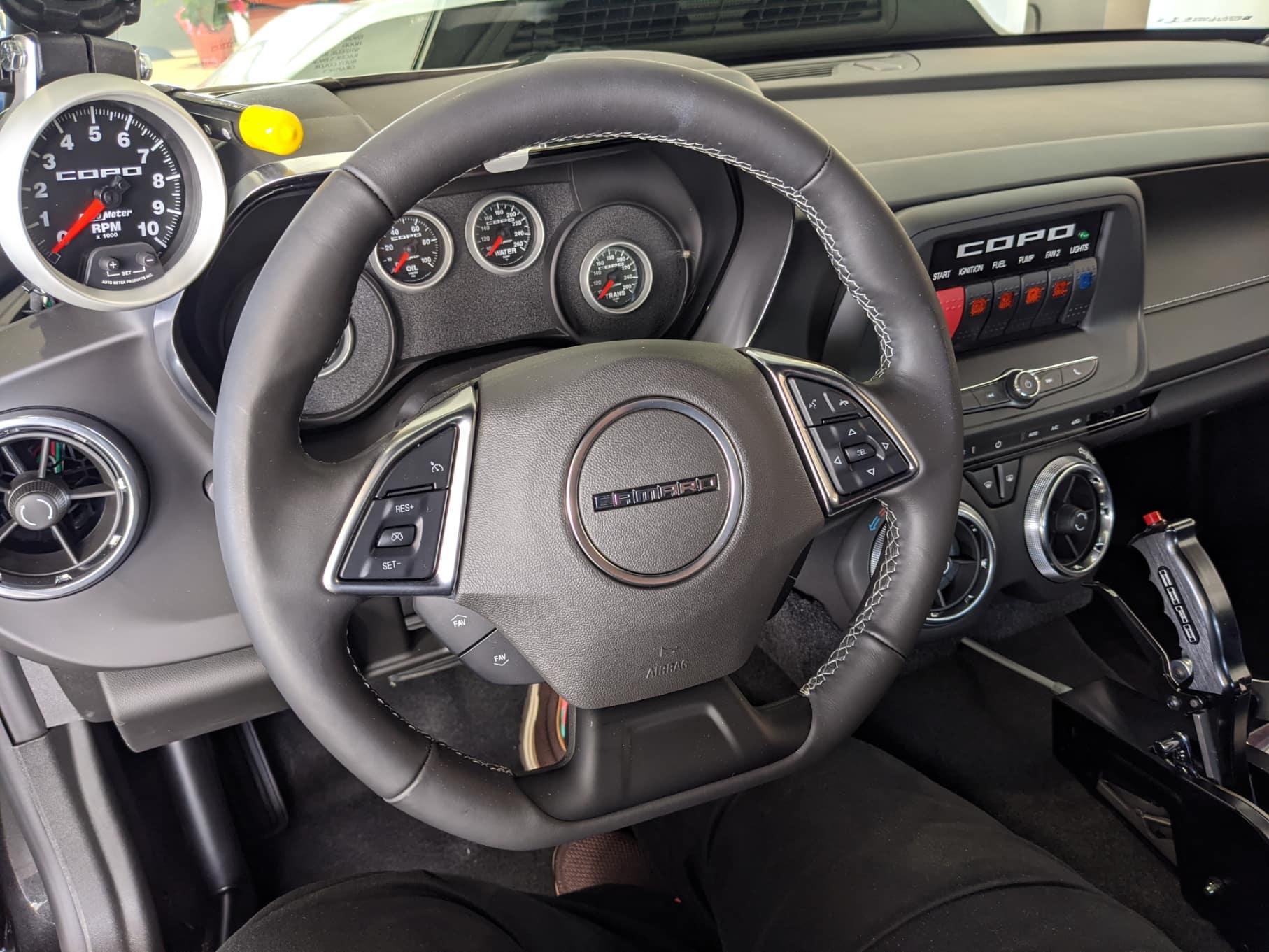 2020 Copo Camaro Interior