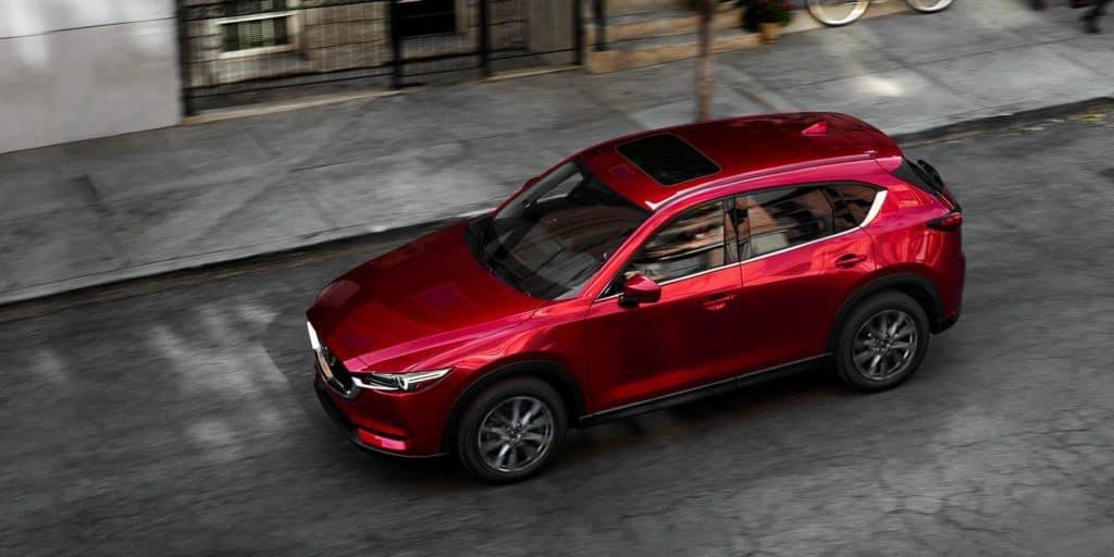 2019 Mazda CX-5 Grand Touring Reserve cabin acoustics sunroof