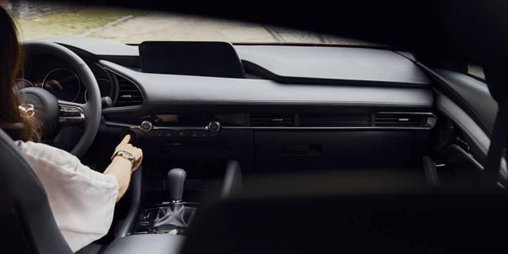 2019 mazda3 sedan interior