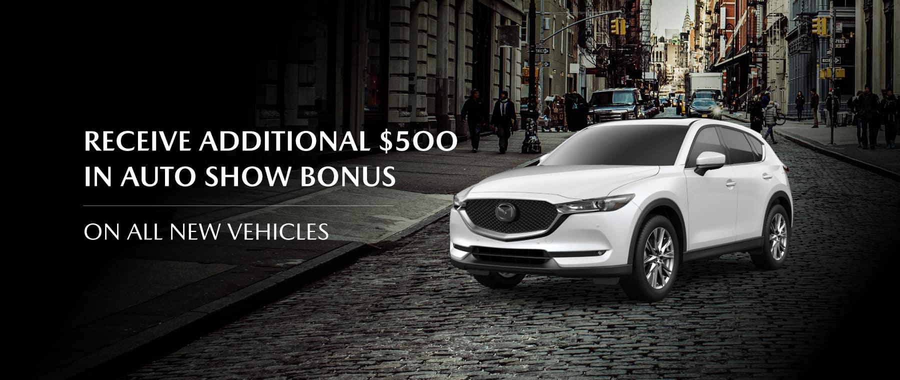 Mazda Auto Show Bonus