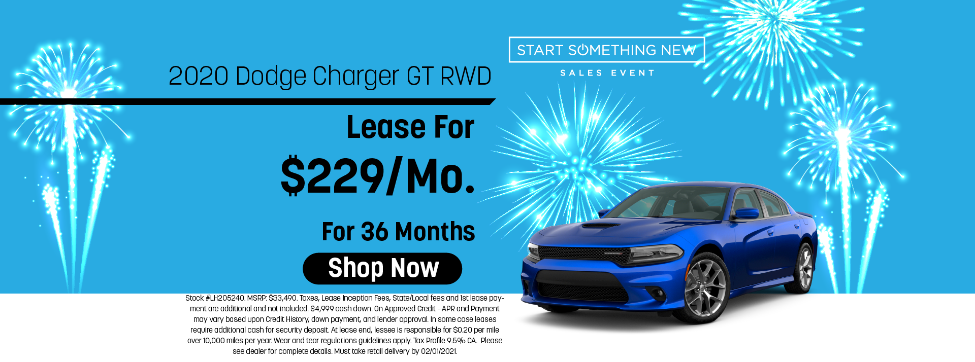Dodge Charger lease