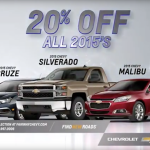 New 2015 Chevy - 20% Off Fairway