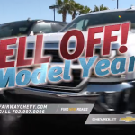 Model Year Sell Off Fairway