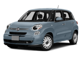 Blue FIAT 500L Easy