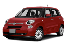 Red FIAT 500L Lounge