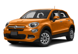 Orange FIAT 500X Easy