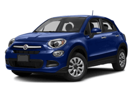 Dark Blue FIAT 500X Lounge