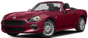 Red FIAT Spider Classica