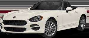 White FIAT Spider Lusso